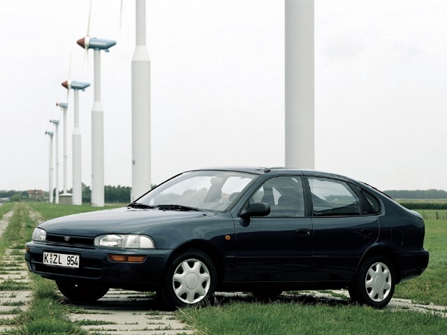Toyota Corolla 1991 - 1997 specifications | carmaniac co uk